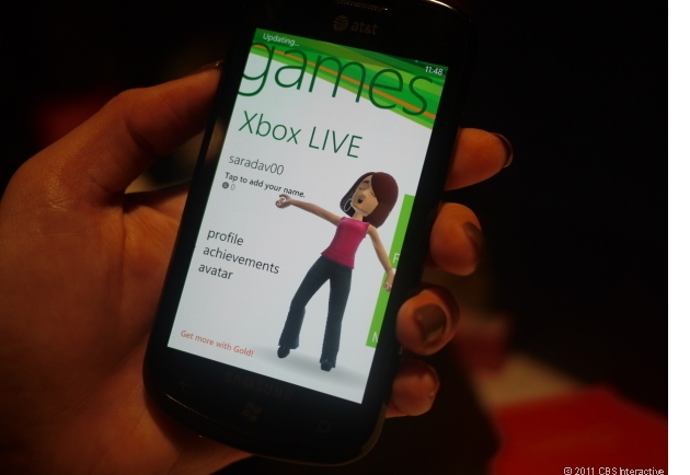 Could the Xbox make the leap to the tablet? (Credit: Bonnie Cha/CNET)