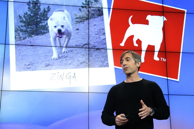 Zynga CEO Mark Pincus (Credit: Associated Press/Paul Sakuma)