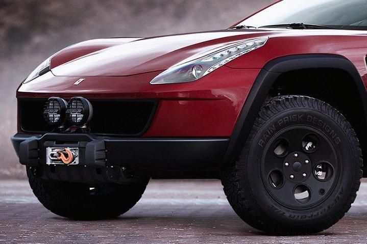 Ferrari FF Imagined as a 4×4 Off-Roading Machine