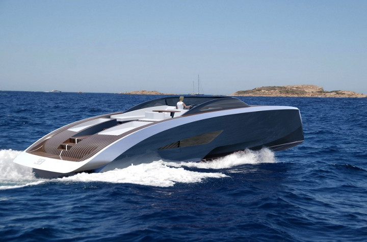 2 2 million bugatti yacht is the perfect complement to. Black Bedroom Furniture Sets. Home Design Ideas