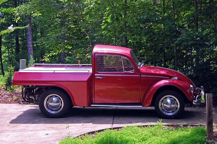 You Can T Help But Love This 1967 Vw Beetle Pickup Truck
