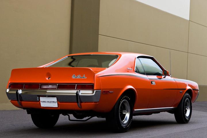 This Amc Javelin Sst Is One Big Bad Orange Pony Car