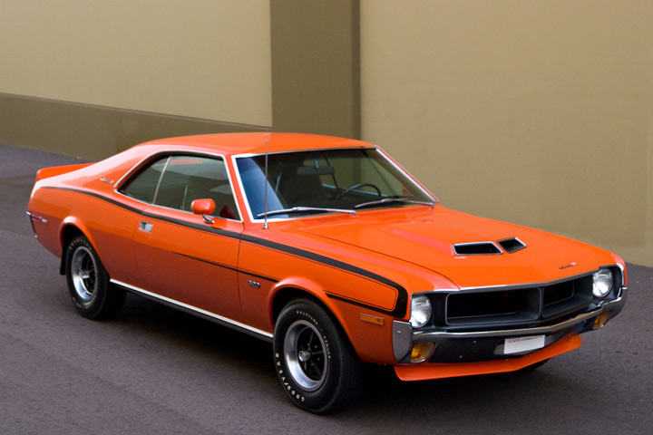 This Amc Javelin Sst Is One Big Bad Orange Pony Car