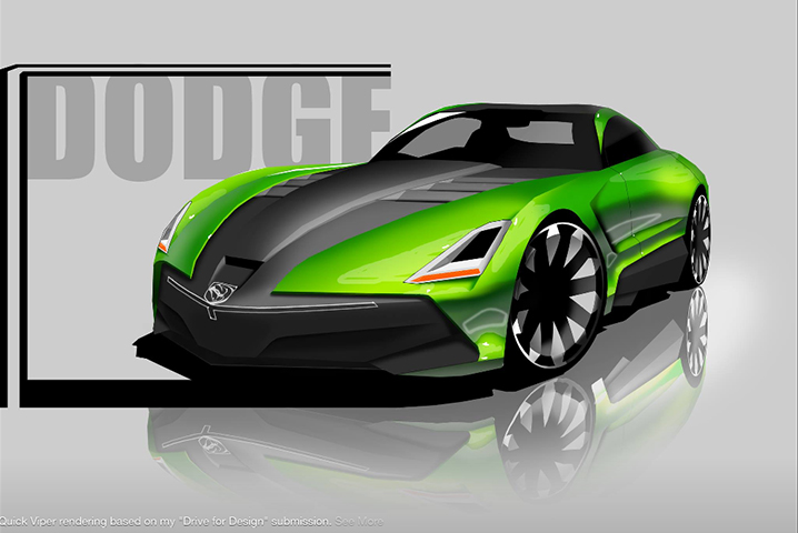 High Schooler Created These Amazing Concept Cars