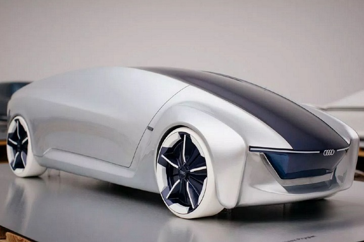 The Audi Of The Future Looks Like A Giant Computer Mouse - Audi future cars
