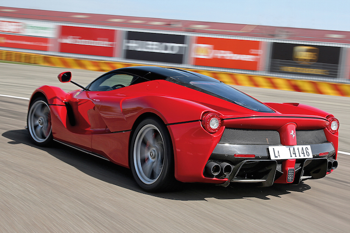 Justin Bieber Adds A Ferrari Laferrari To His Collection