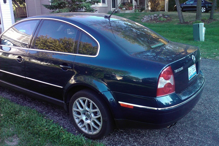 the unluckiest used volkswagen passat w8. Black Bedroom Furniture Sets. Home Design Ideas