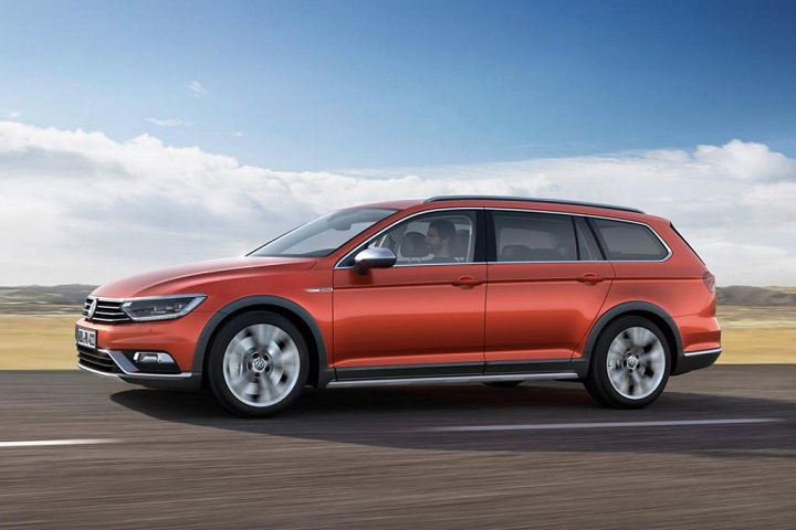 2015 volkswagen passat alltrack set for geneva debut. Black Bedroom Furniture Sets. Home Design Ideas