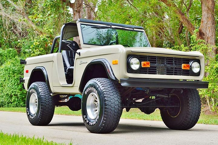 best old 4x4  This Ford Bronco Is a Beefed-Up Throwback to Old-School SUVs