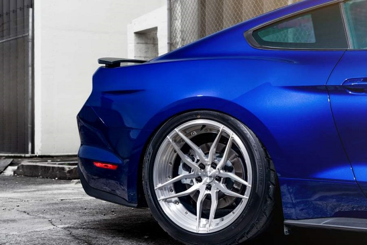 "2015 Mustang Ecoboost Modified >> ADV.1′s ""Blue Devil"" Ford Mustang Is Demonically Cool"
