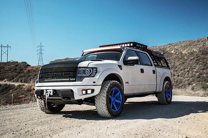 this ford raptor is now a 590 hp camping vehicle rh yahoo com ford raptor camper shell price 2017 ford raptor with camper shell