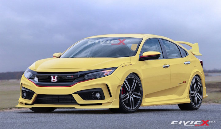 Great Honda Civic Type R Concept