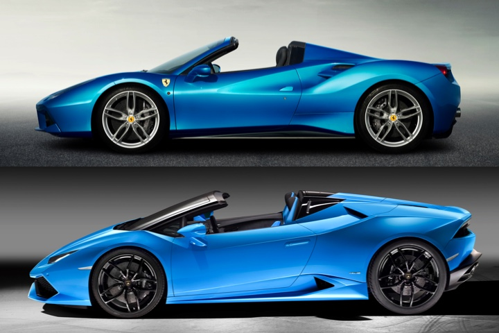 Lamborghini Huracan Spyder vs Ferrari 488 How Do They Stack Up?