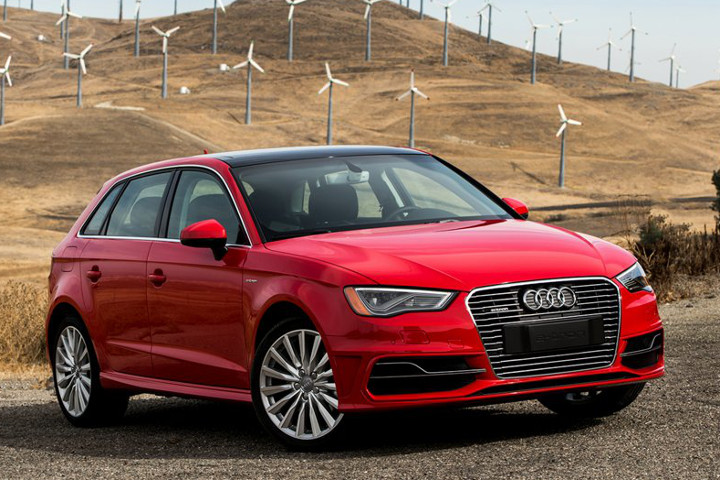 keeping current in the 2016 audi a3 e tron plug in hybrid first drive. Black Bedroom Furniture Sets. Home Design Ideas