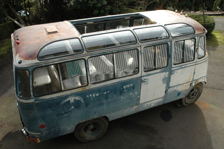 1958 mercedes coach for Mercedes benz 319 bus for sale