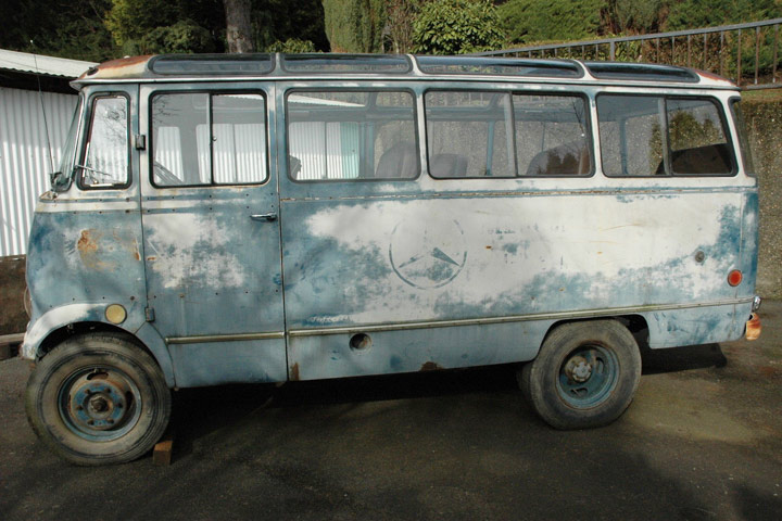 1958 ex mercedes training bus is a rare ebay find for Mercedes benz 319 bus for sale