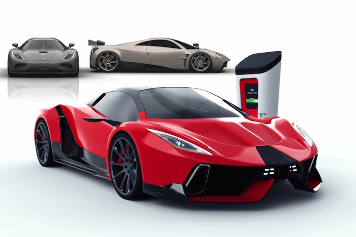 American Startup PSC Motors Wants To Change the Supercar Game