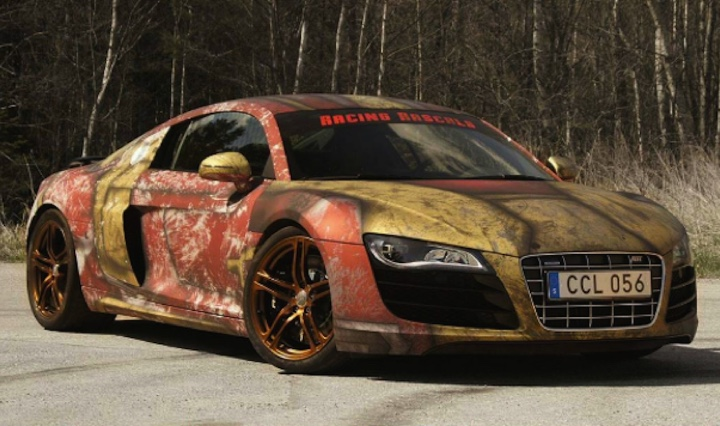 Iron Man Themed Audi R8 Looks Like Something Straight Out Of Civil War