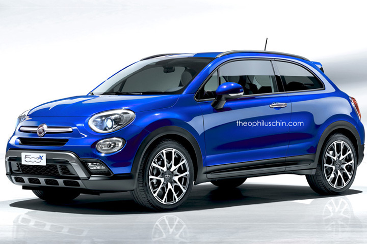 fiat needs to build this 500x coupe. Black Bedroom Furniture Sets. Home Design Ideas