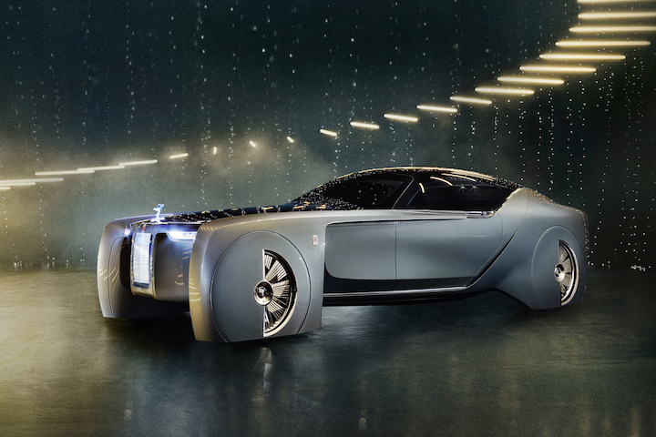 Rolls Royce Reveals Its Electric Luxury Car Of The Future