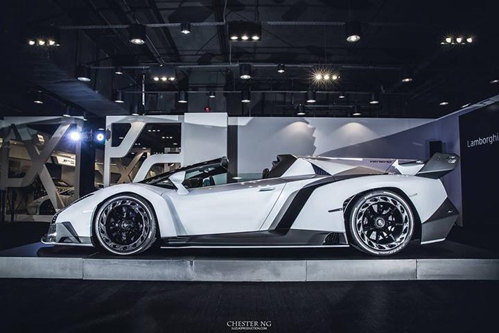 White Lamborghini Veneno Roadster Is A Devil In A New Dress