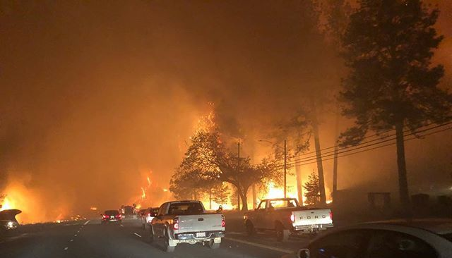 'Very dangerous' Camp Fire prompts evacuations, state of emergency in Butte County, California