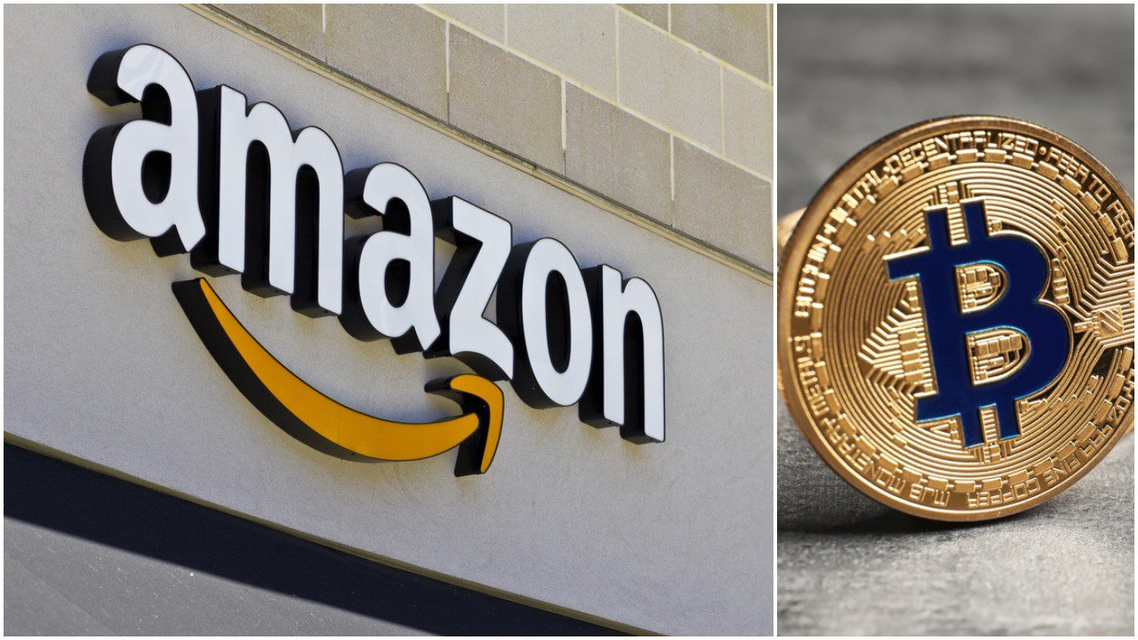 Amazon's proof-of-work crypto patent doesn't mean it's accepting bitcoin. | Source: Shutterstock; Edited by CCN
