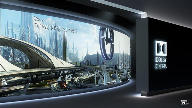'Tomorrowland' in Dolby Cinema: the best picture I've seen in a theater