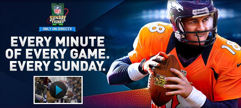 DirecTV secures NFL Sunday Ticket deal vital to AT&T merger