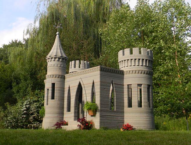 Modern magic: World's first 3D-printed castle