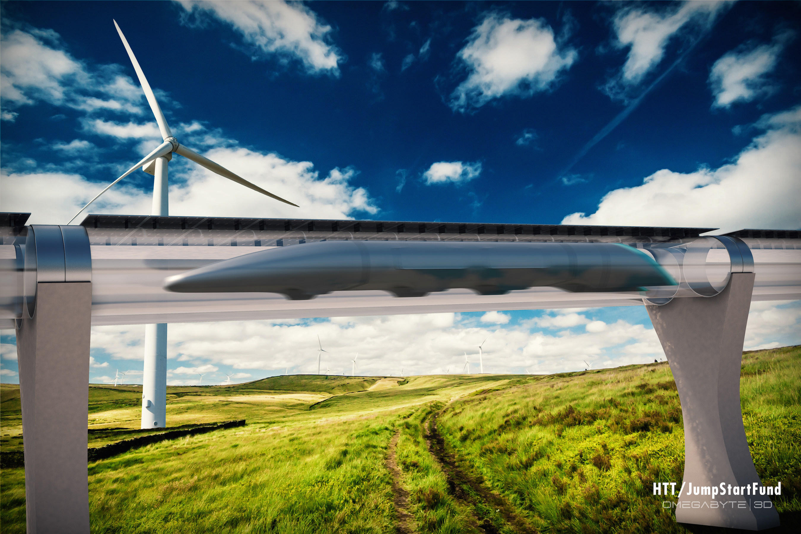 Elon Musk plans to build Hyperloop test track