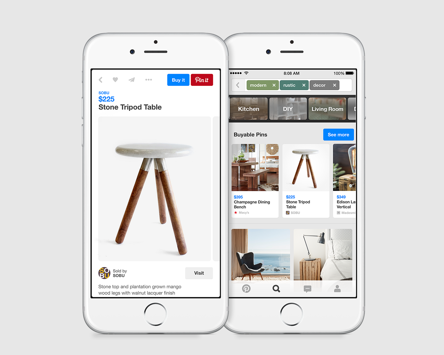 Attention, shoppers: Pinterest rolls out 'Buy It' buttons