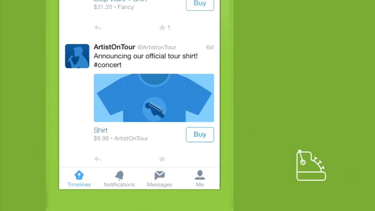 Shop inside a tweet with Twitter's 'Buy' button