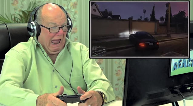 Watch seniors play Grand Theft Auto V for the first time