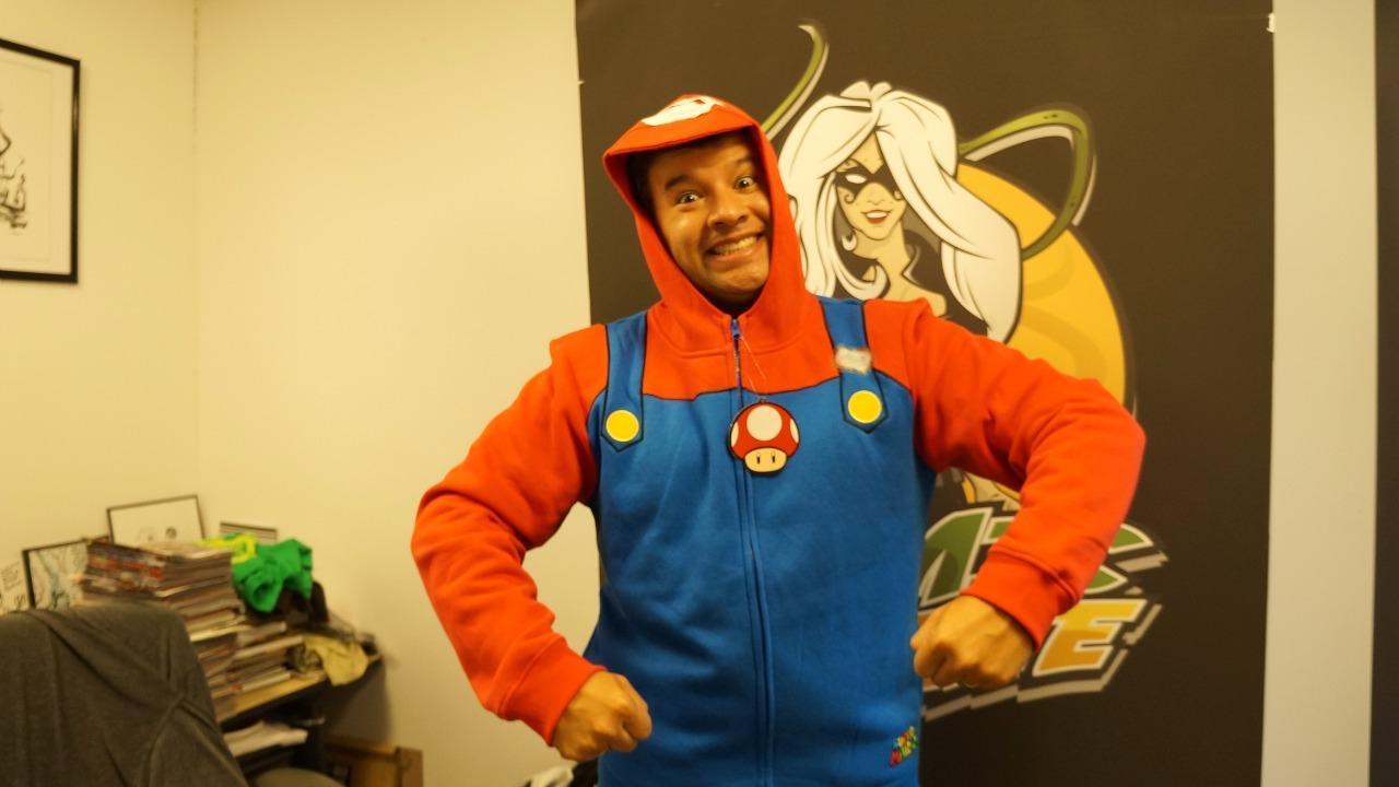 Nintendo Costume Hoodies--for Cosplay or Keeping Warm