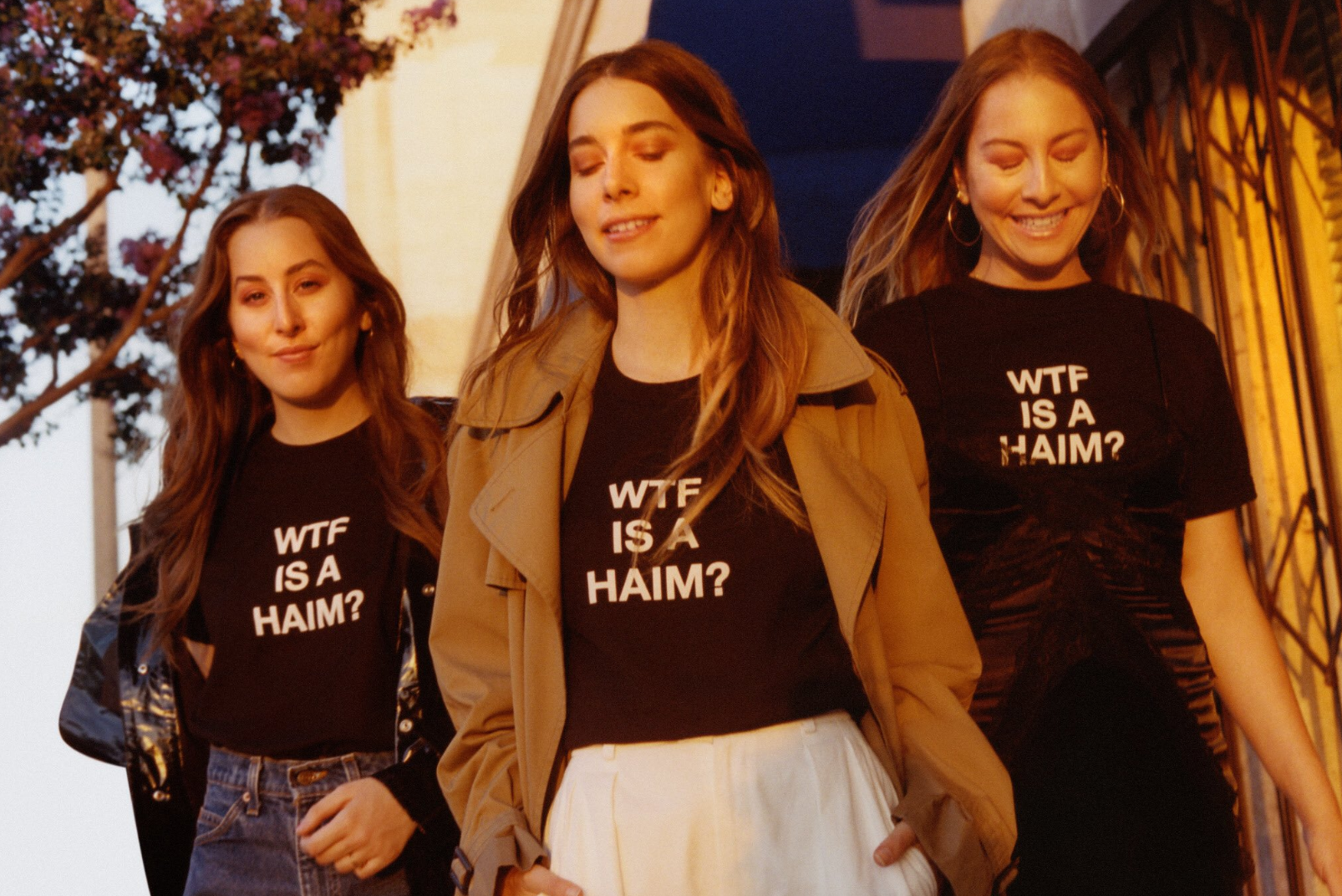 18 pieces of music merch for summer 2017 for Wtf is a haim shirt