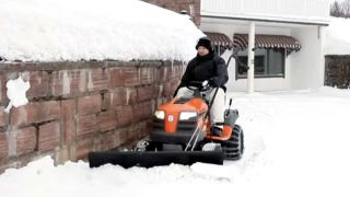 5 Reasons a Riding Mower Snow Plow Is a Bad Idea
