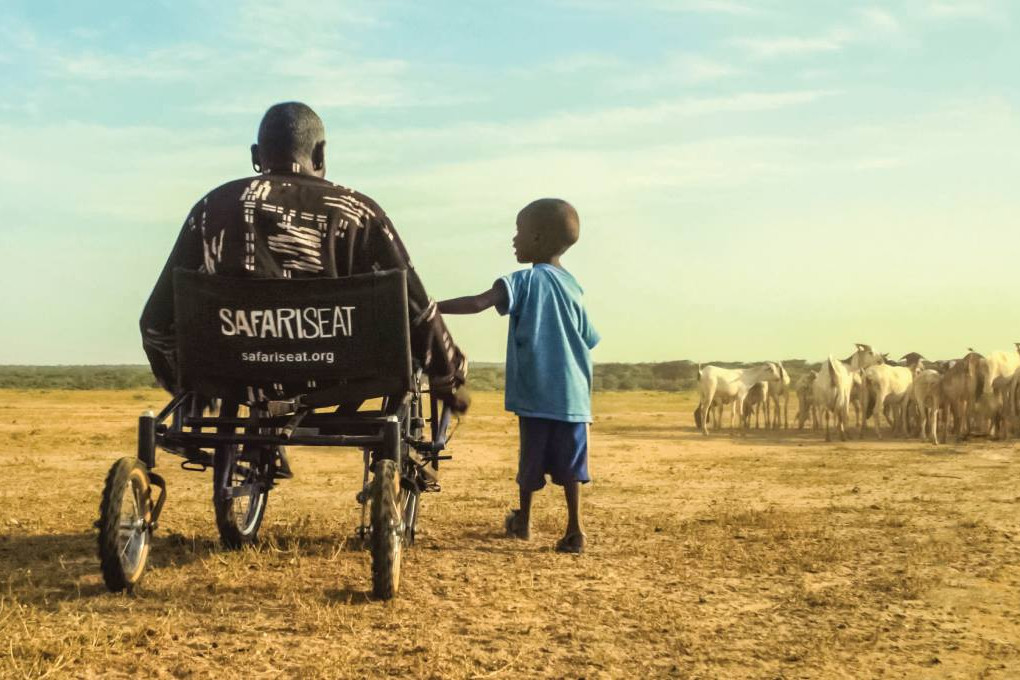SafariSeat is an all-terrain wheelchair designed for developing countries