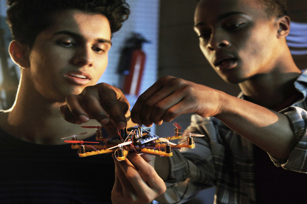 Flybrix is a modular drone for kids that's built almost entirely out of Legos
