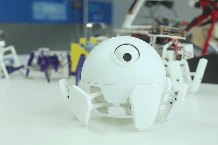 Xpider is the world's smallest (and cutest) programmable robotic spider