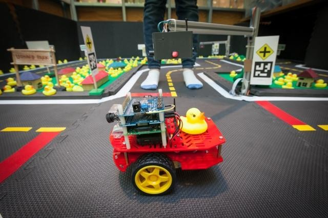 Rubber ducky, you're the one … to test self-driving technology at MIT