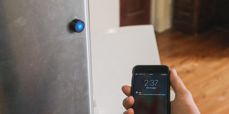 'Take your pill!' Ultra-precise Dot beacons trigger alerts that matter