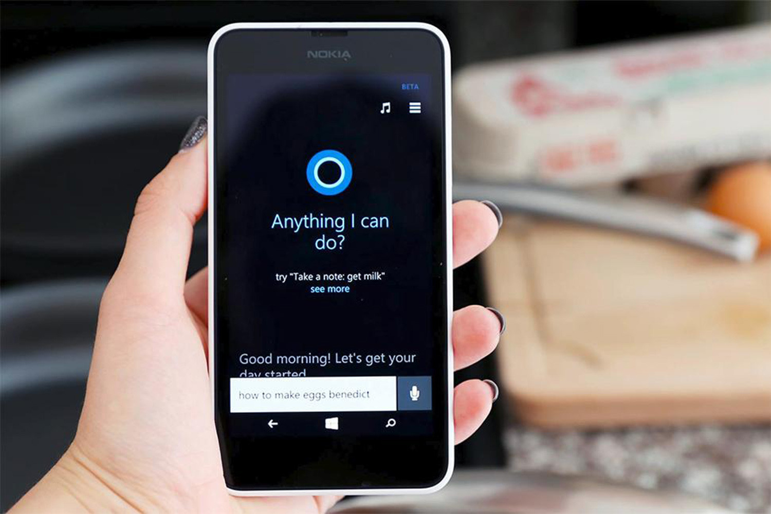 Worlds collide as Cortana makes its way to the Android lock screen