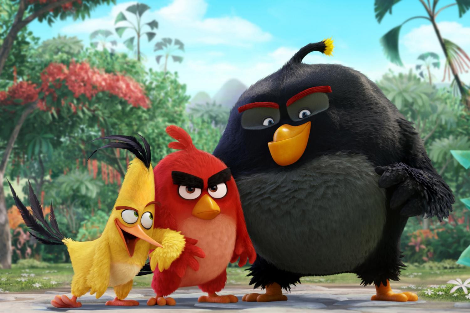 Angry Birds is the number one movie in America, but not by much