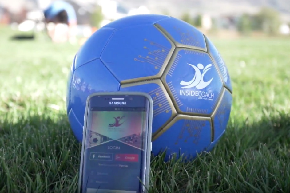 InsideCoach smart soccer ball aims to keep kids active