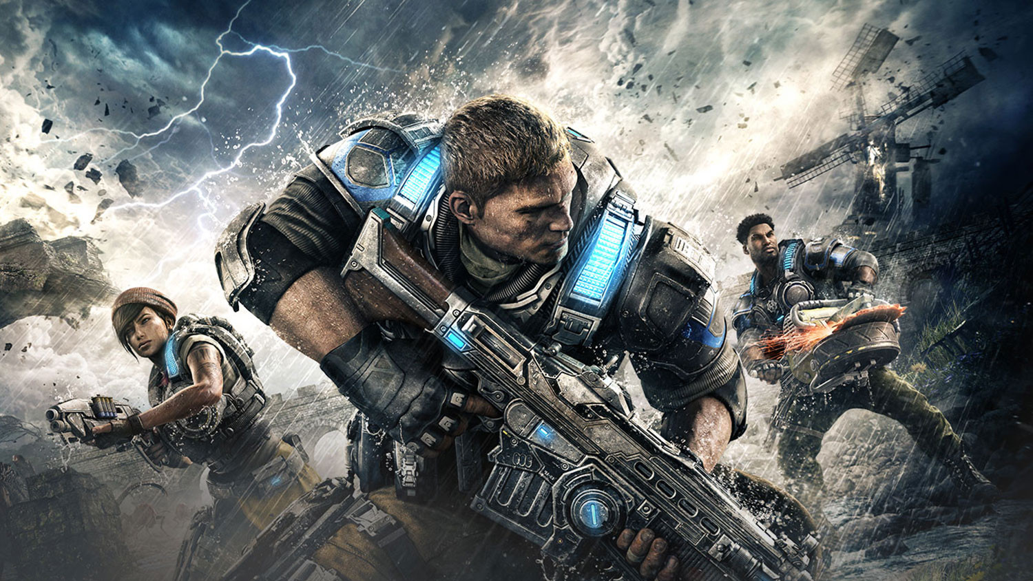 Every GTX 1070/1080 sold comes with a free 'Gears of War 4' on PC, Xbox One
