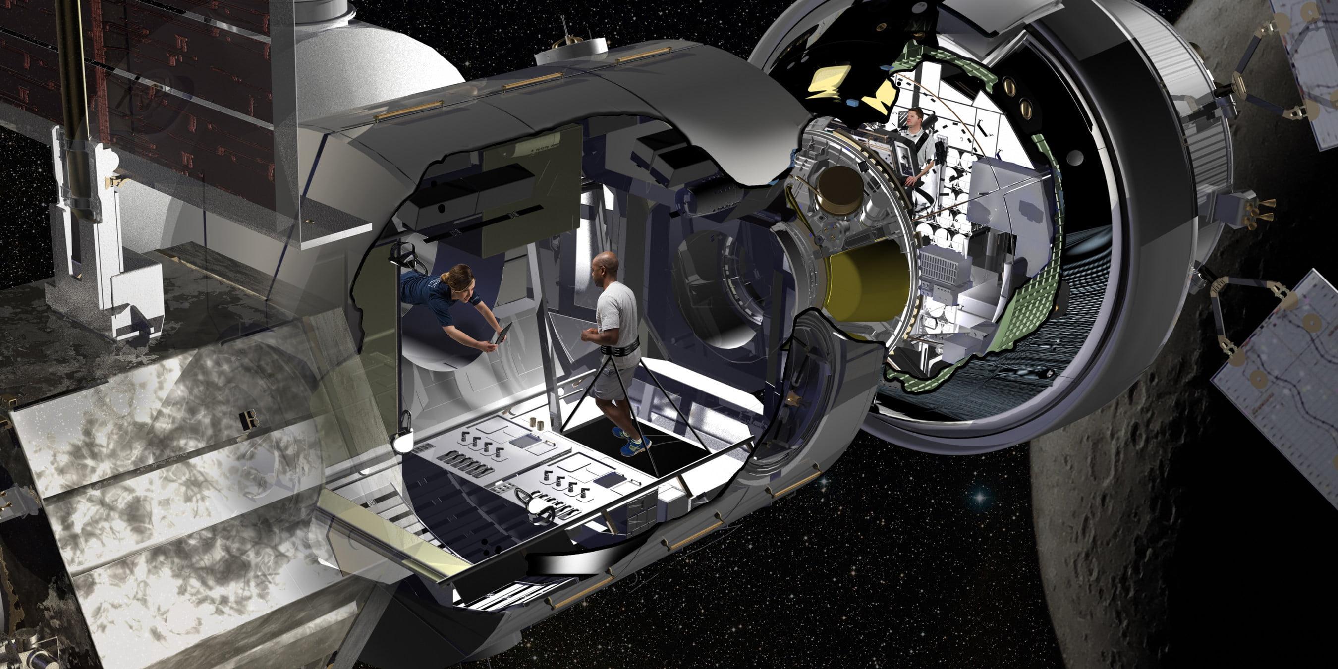 Space shuttle junk gives shape to Lockheed Martin's new habitat prototype