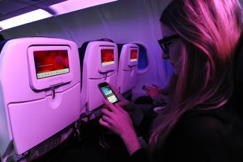 Virgin America finally getting a mobile app, complete with Spotify integration