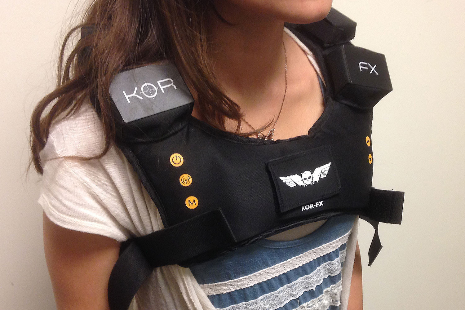 Kor-FX Haptic Vest: Our first take
