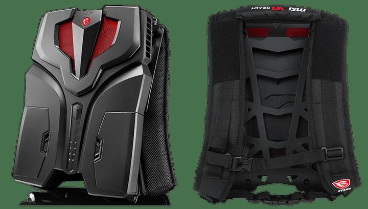 MSI VR One Backpack